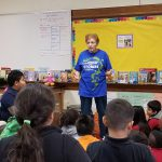 Students in 2nd, 3rd, & 5th Grades participated in the Kansas City, Kansas Public Library Storytelling Celebration.
