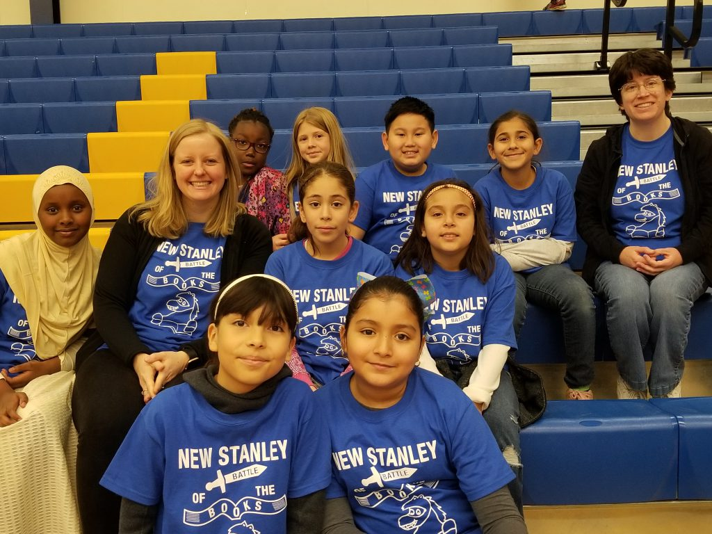 Students & staff participate and place 2nd in the Literacy Festival! Photo Credit: Ms. Postlewait