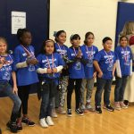 Students & staff participate and place 2nd in the Literacy Festival! Photo Credit: Mrs. Roberson