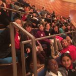 Students students watch the KC Symphony perform!
