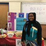 Students, staff, and families participate in the 2nd annual cultural festival. Photo Credit: Ms. Roberson