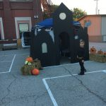Haunted House Trunk at Trunk or Treat.