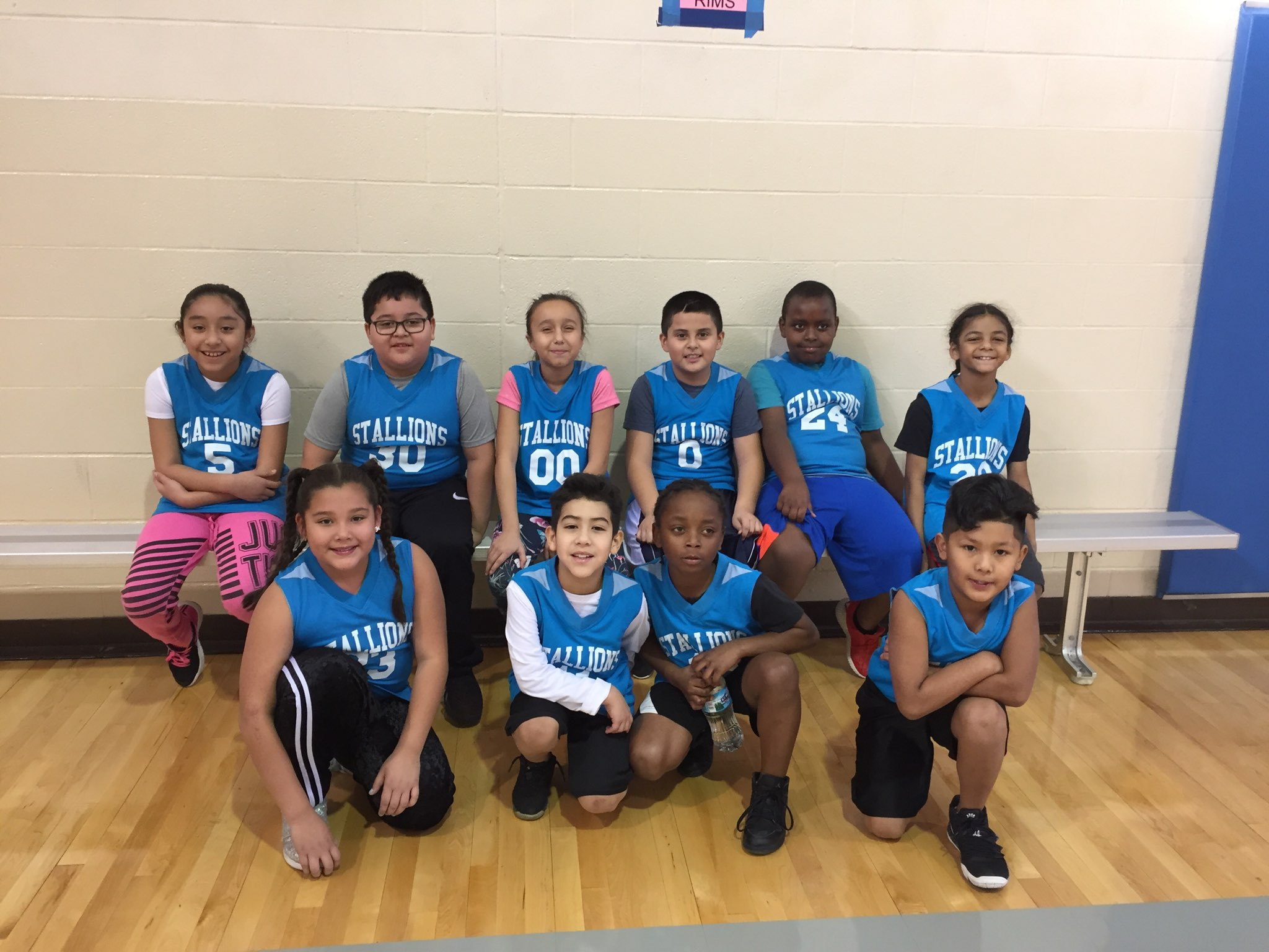 New Stanley's K/1 Basketball Team's First Game was on January 26, 2019. They won!! Photo Credit: Mrs. Kerr