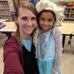 Students & staff participate in Disney Day.