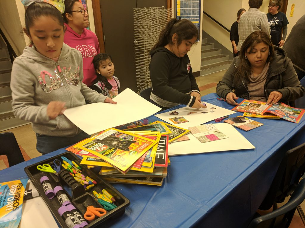 Students, staff, and families participate in the 2nd annual cultural festival. Photo Credit: Ms. Quaas