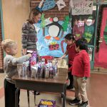 Kindergarten won the PTA's Box Top Contest to win a Popcorn Party! Photo Credit: Ms. QuaasKindergarten won the PTA's Box Top Contest to win a Popcorn Party! Photo Credit: Ms. Quaas