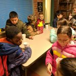 Students came out to get Hot Cocoa during STUCO's Hot Cocoa Fundraiser! It was wonderful on those cold mornings! Photo Credit: Ms. Quaas