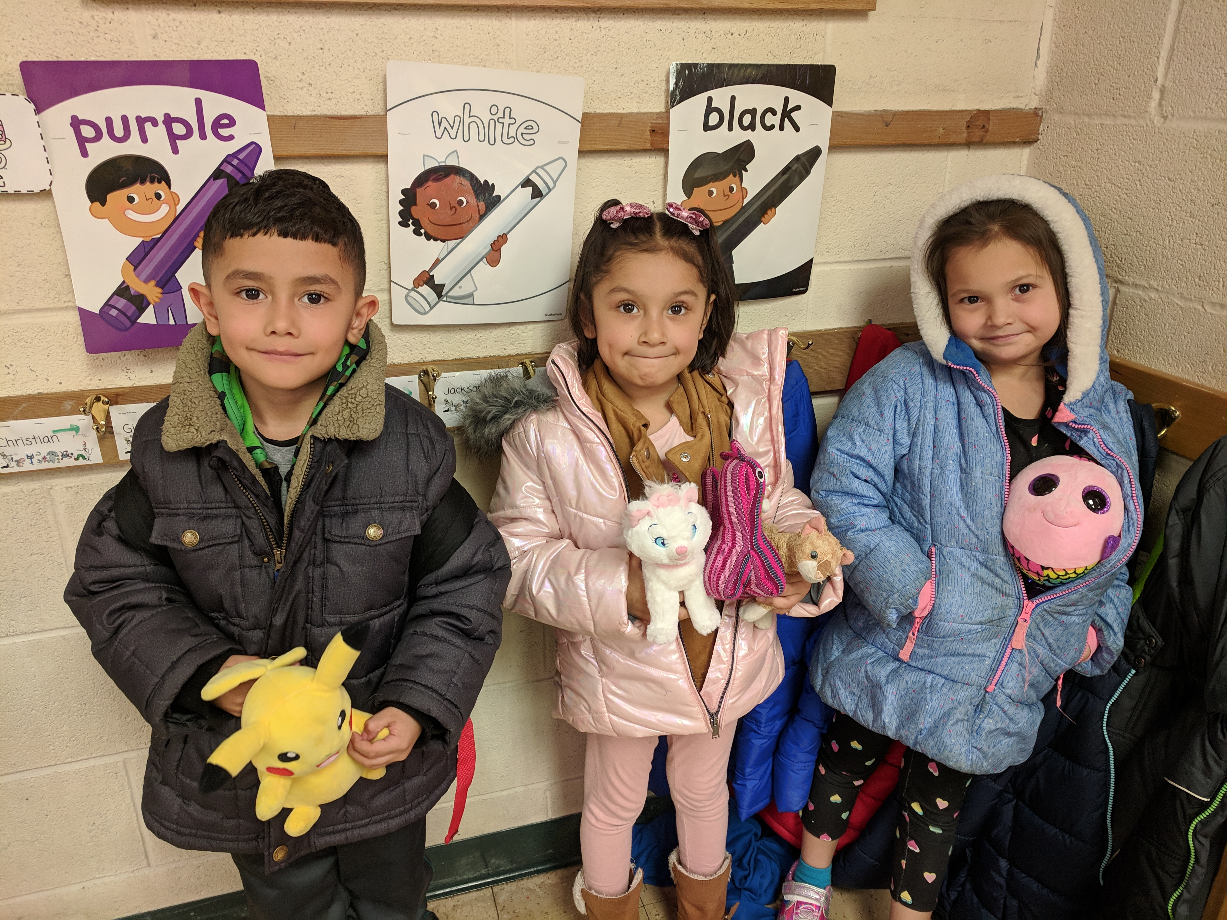 Bring a Stuffed Animal To School Day!!! Photo Credit: Ms. Quaas