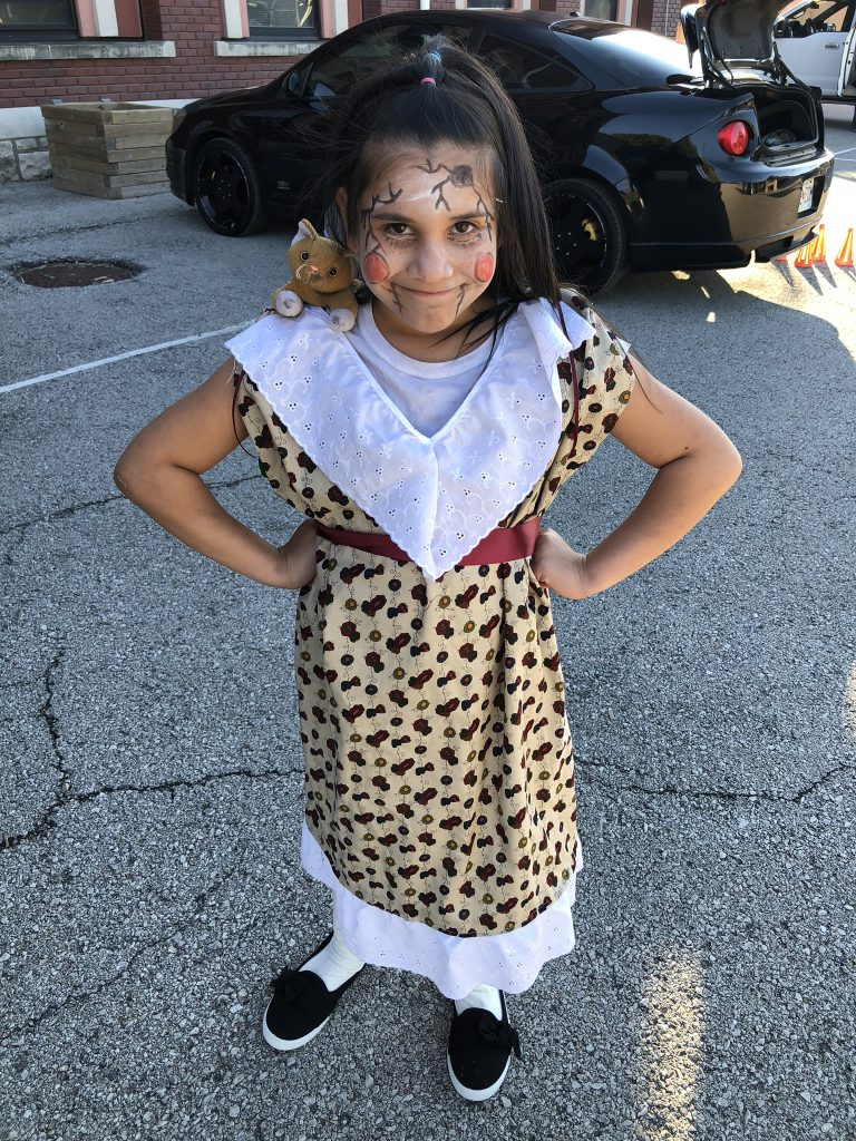 Student at Trunk or Treat
