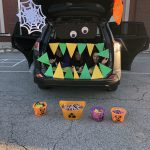 Teachers at Trunk or Treat