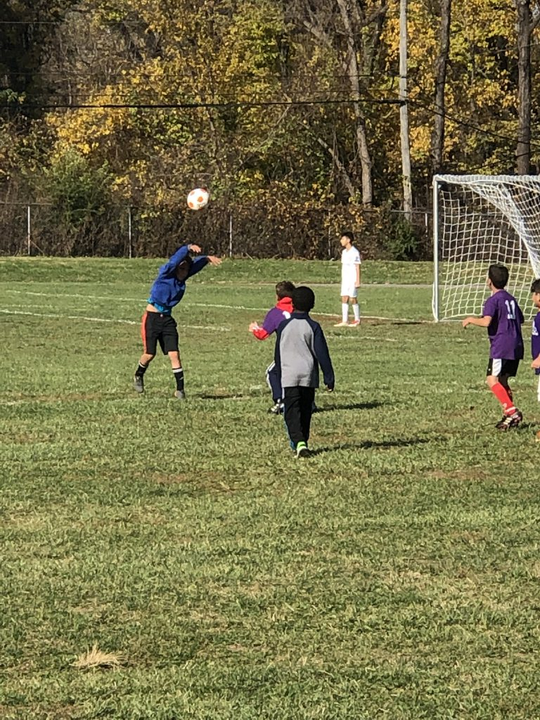 New Stanley's 2nd & 3rd Grade Soccer Team. Photo Credit: Mrs. Yarbrough