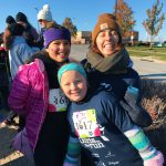 Students & staff participate in the GOTR Fall 5K at Children's Mercy Park. Photo Credit: Ms. Baker