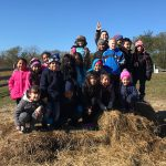 Ms. Bellah & Ms. Schmitt's Kindergarten Class at the Weston Red Barn Farm!