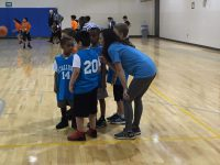 The K/1 Team playing their game on 2/2/19. The Stallions lost this game making their record for the season 1-1. Ms. Murray reports that Anas & Jesse made baskets and that the entire team played very well!! Photo Credit: Ms. Murray