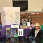 Students, staff, and families participate in the 2nd annual cultural festival. Photo Credit: Mrs. Anthony